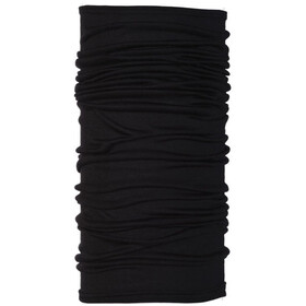 Buff Merino Wool Denim Neckwarmer black